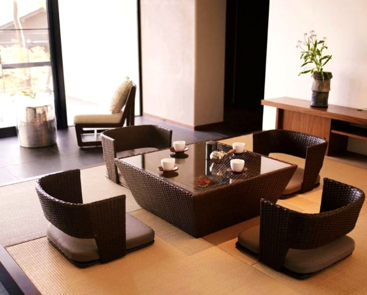 25 best ideas about japanese dining table on pinterest On low dining room tables