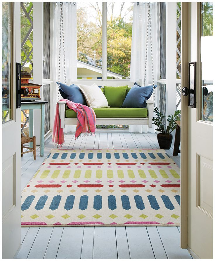 Save On Poppy Puerta Azul Lime Rugs Choose Beautiful Machine Woven Outdoor From Capel America S Rug Company