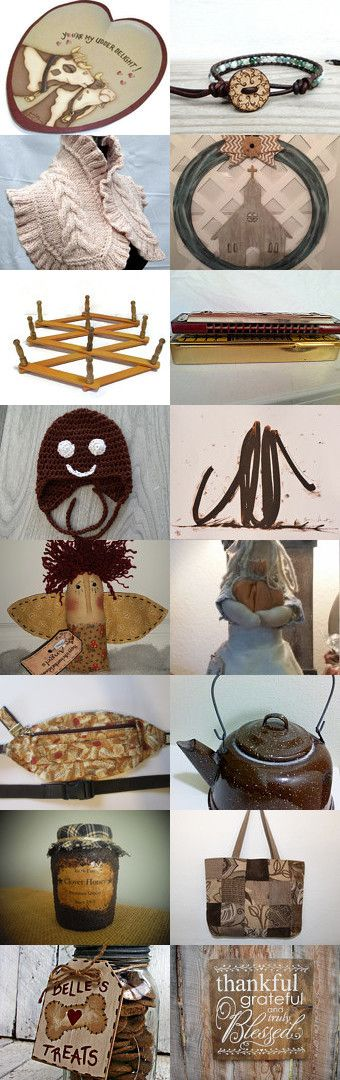 NOW NOW Brown Cow !!   by Karen on Etsy--Pinned+with+TreasuryPin.com