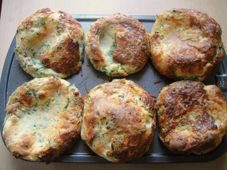 Cheesy Herbed Popovers by Serious Eats | breads | Pinterest