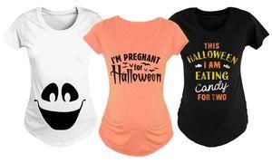 Groupon - Women's Halloween Maternity Tees. Groupon deal price: $15.99