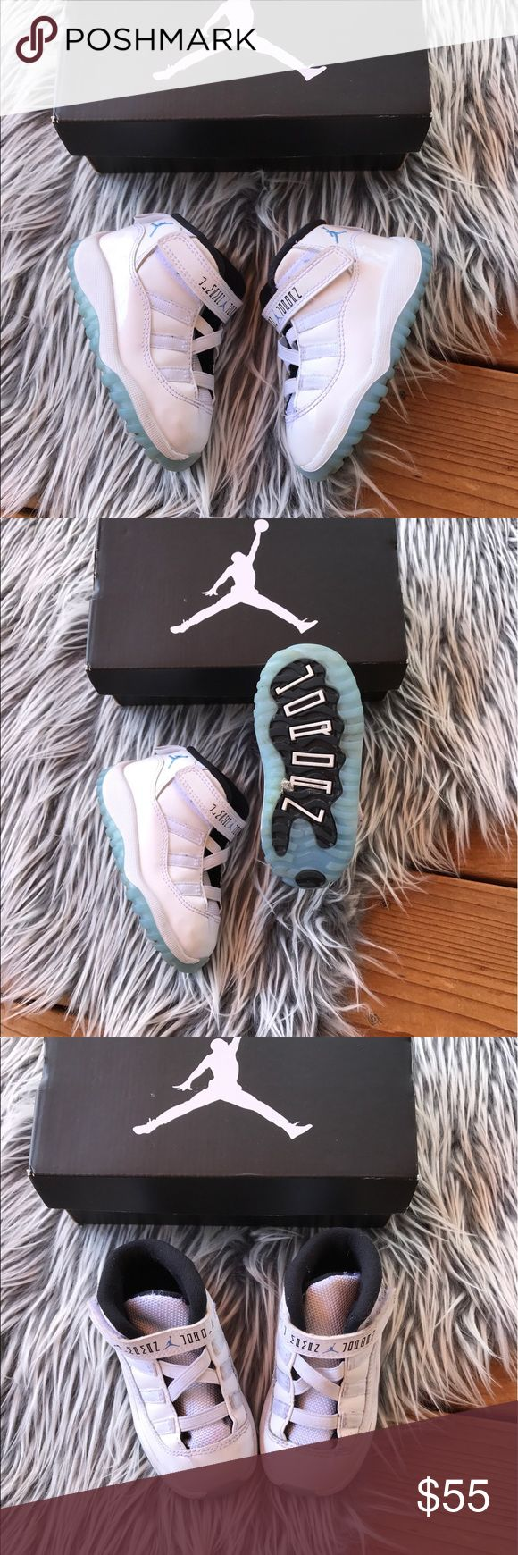 Toddler Jordan retro 11s 9/10 retro jordans 11 in legend blue, just needs a nice cleaning | ✨ Toddler Size 6C ✨ || will ship with box ✨ firm on price ✨ Jordan Shoes Sneakers