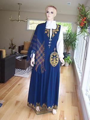 NEW-ADULT-42-44-NORWEGIAN-ROMERIKE-BUNAD-Hand-embroidered-Folk-Costume-NORWAY