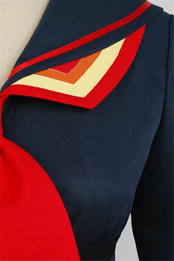 KILL La KILL Ryuko Ryuuko Matoi Senketsu Suit Outfit Uniform Cosplay Costume Hot