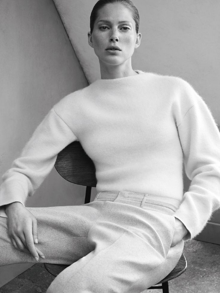 jil sander fall winter 2014 campaign1  Jil Sander Keeps it Simple for Fall 2014 Ads with Iselin Steiro