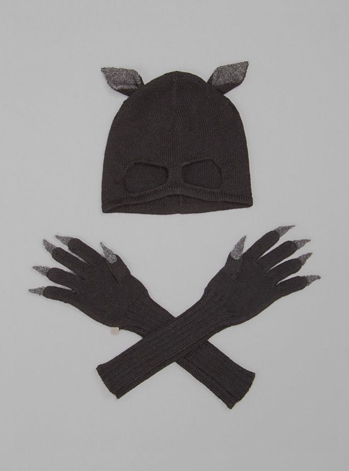 Couverture and The Garbstore - Childrens - Oeuf - Cat Hat And Glove Set