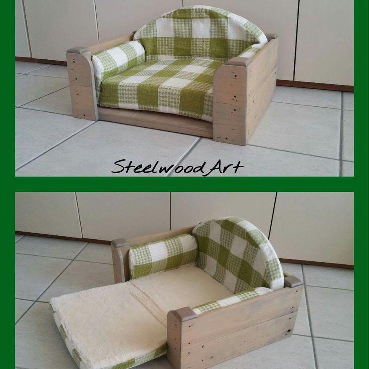 Sofà per animali domestici di piccola e media taglia. Il letto ideale per i suoi riposini. .....per il vostro gatto oppure il vostro cane un rifugio accogliente e confortevole. ...