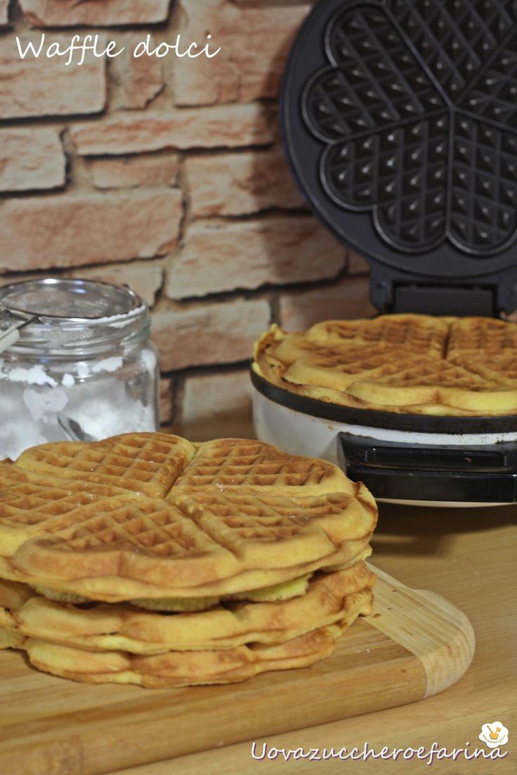 ricetta waffle dolci o Gaufres