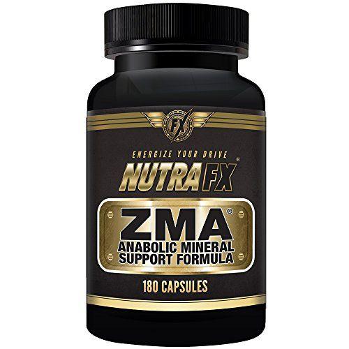 ZMA Testosterone Boosting Bodybuilding Supplement (Zinc ...