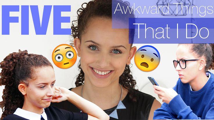 Awkward things I do! #awkward #youtube #funny #girl