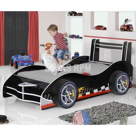 Mais de 1000 ideias sobre cama de carro de corrida no - Cama coche infantil ...