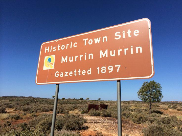 Murrin Murrin - Historic Town Site. Gazetted in 1897