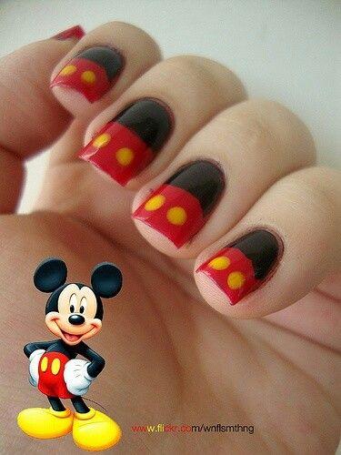Mickey nagels/nails