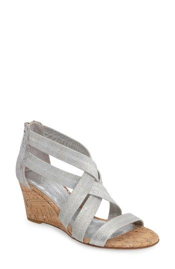 Free shipping and returns on Donald J Pliner Jemi Wedge Sandal (Women) at Nordstrom.com. Stretchy, crisscrossed leather straps define a modern sandal made with a glossy, snake-embossed wedge and a well-cushioned footbed.