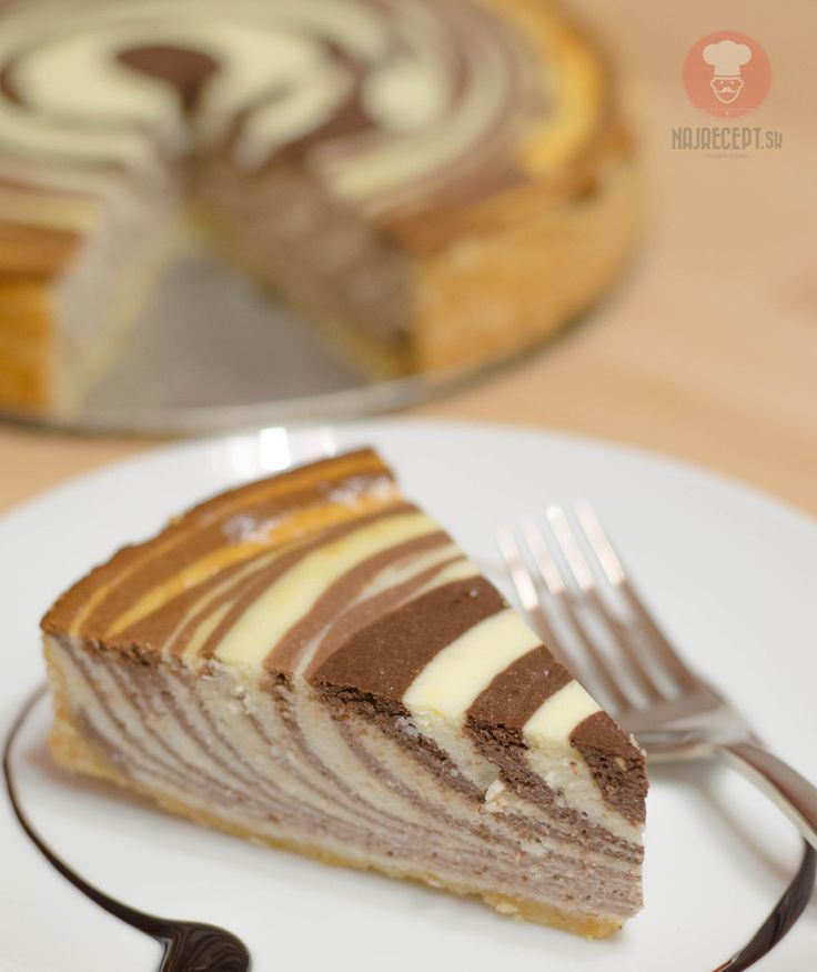 Zebra cheesecake | NajRecept