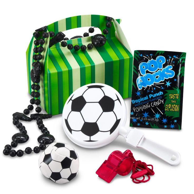 Soccer Birthday Party Favor Box