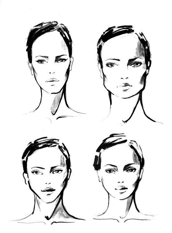 Zostań swoją własną stylistką! Część I: Kształt twarzy - maxmodels.pl
