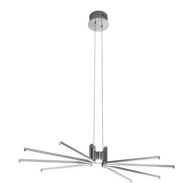 AXIAL Redo - LED lampa stropná - chróm/akryl - 900mm