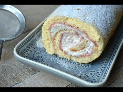 Deze heerlijke cakerol met slagroom en jam is razend populair in Nederland! Zo maak je hem lekker zelf! - Zelfmaak ideetjes