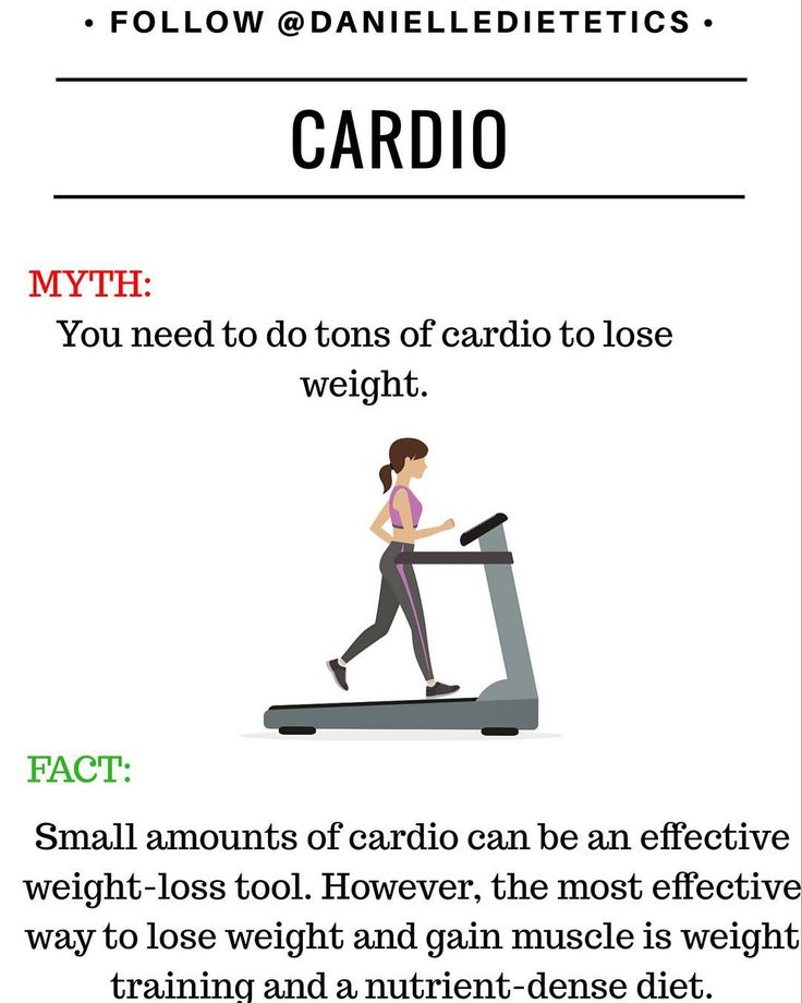Im guilty. I used to think that the most important thing to do at the gym was cardio. Now I am starting to see and feel the difference by incorporating more weight training. Did you know that the standard treadmill machine can overestimate calories up to 20%?