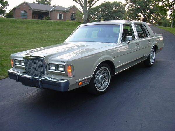 1987 Lincoln Town Car Cars We Have Owned Pinterest