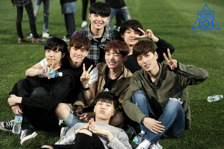 produce 101 season 2 yoon jisung kim sanggyun