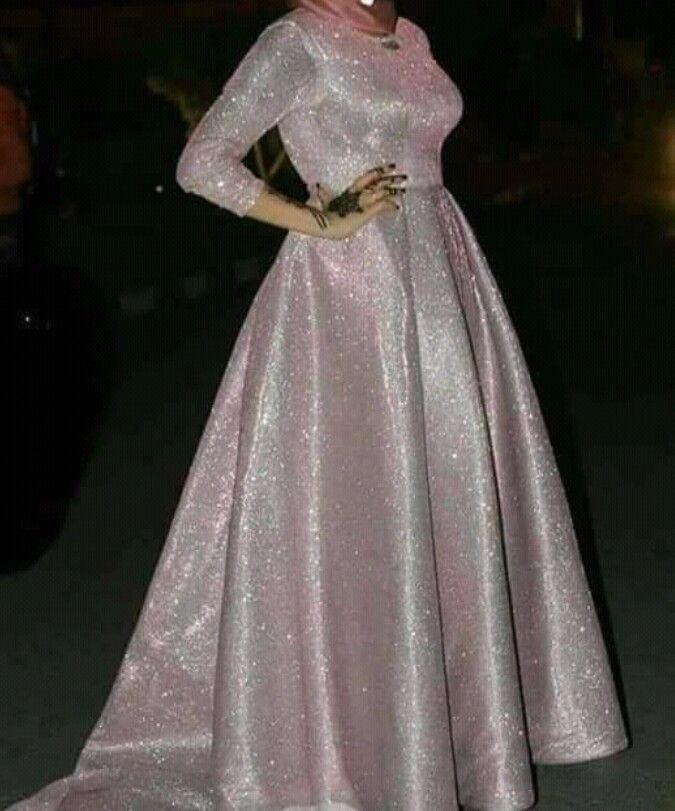 فتافيت السكر Muslim Evening Dresses Stylish Dresses For Girls Soiree Dress