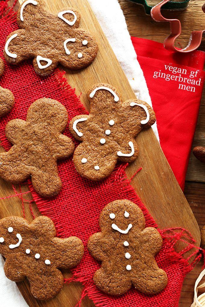 gingerbread men | vegan + gluten-free
