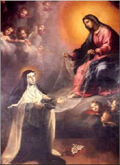 """""""Twelve meditations"""" of St. Mary Magdalen de Pazzi (Feast: May 25) ~ 10. We might consider that the Virgin Mary is like this book, sealed with seven seals, that Saint John the Evangelist saw in the Revelation, and which could only be opened by the Lamb (Rev 5:5).   The seven seals are the seven gifts of the Holy Spirit that the Virgin Mary fully possesses, more than any other creature. We can also understand them as the seven privileges that she enjoys...."""