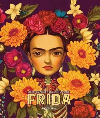 Frida illustrated by Benjamin Lacombe: this draws you into Frida Kahlo's life through a series of consecutive die-cut pages passing through aspects of her life, art and creative process while exploring the themes that inspired her most, such as love, death and maternity. Excerpts from Frida Kahlo's personal diaries alternate with Sebastian Perez's poetic musings.