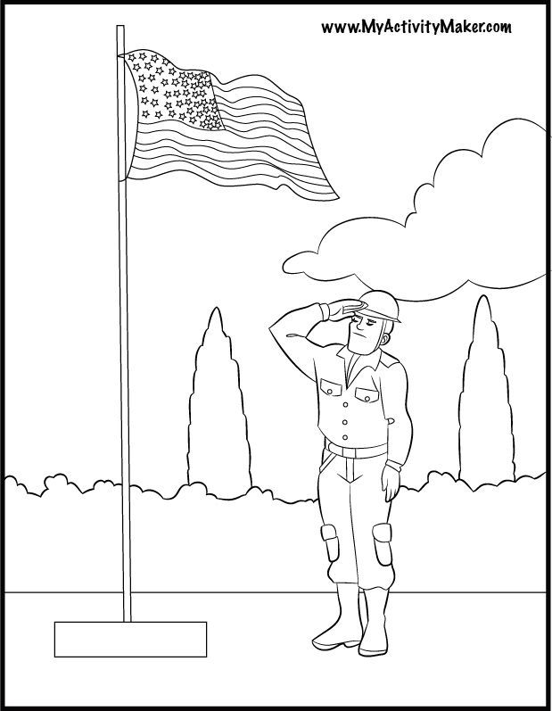 memorial day coloring pages | Coloring Pages: Holidays & Events