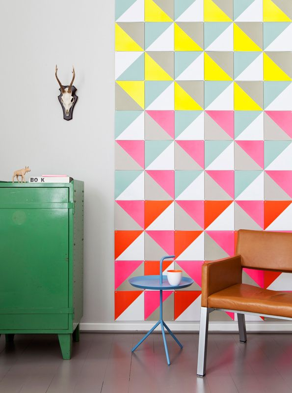 Modular geometric cards to create your own collage or photo / ixxi