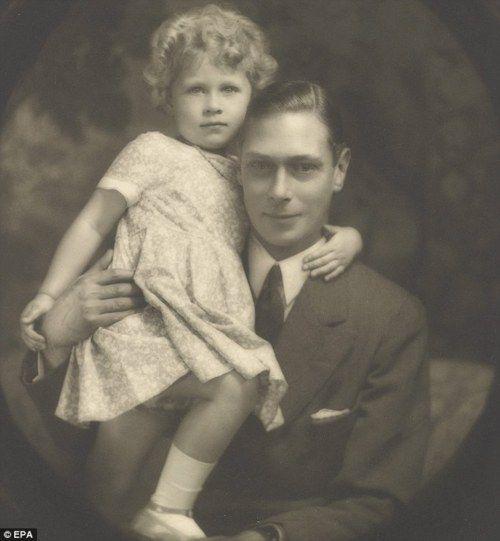 King George VI and Elizabeth II.