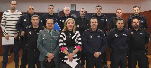 La Policía Local recibe los diplomas del 'Curso sobre la nueva Ley de Seguridad Ciudadana y Código Penal'