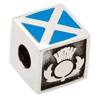Scottish Thistle Celtic Charm