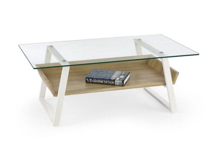 Stoliki kawowe LUCIA to awangardowy projekt wprost idealny do nowoczesnych mieszkań. Mocna podstawa ławy zrobiona z malowanej proszkowo stali na biało. https://mirat.eu/stoliki-i-lawy,c124.html