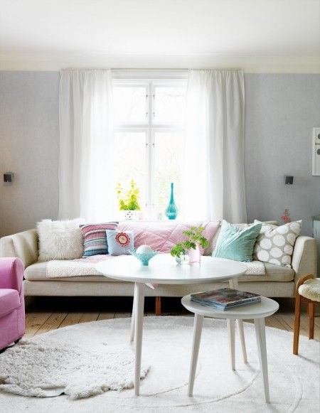 love the pillows and couch