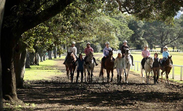 HORSE RIDING AT CENTENNIAL PARK