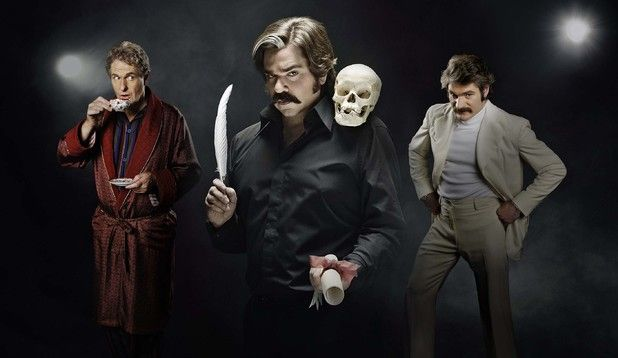Matt Berry, (Toast of London)... Matt Berry can do no wrong :)