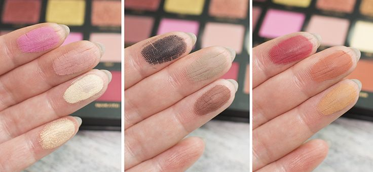 http://www.candykiller.pl/ Huda Beauty Rose gold swatch 2