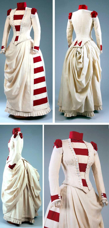 Woolen dress, 1887. McCord Museum.