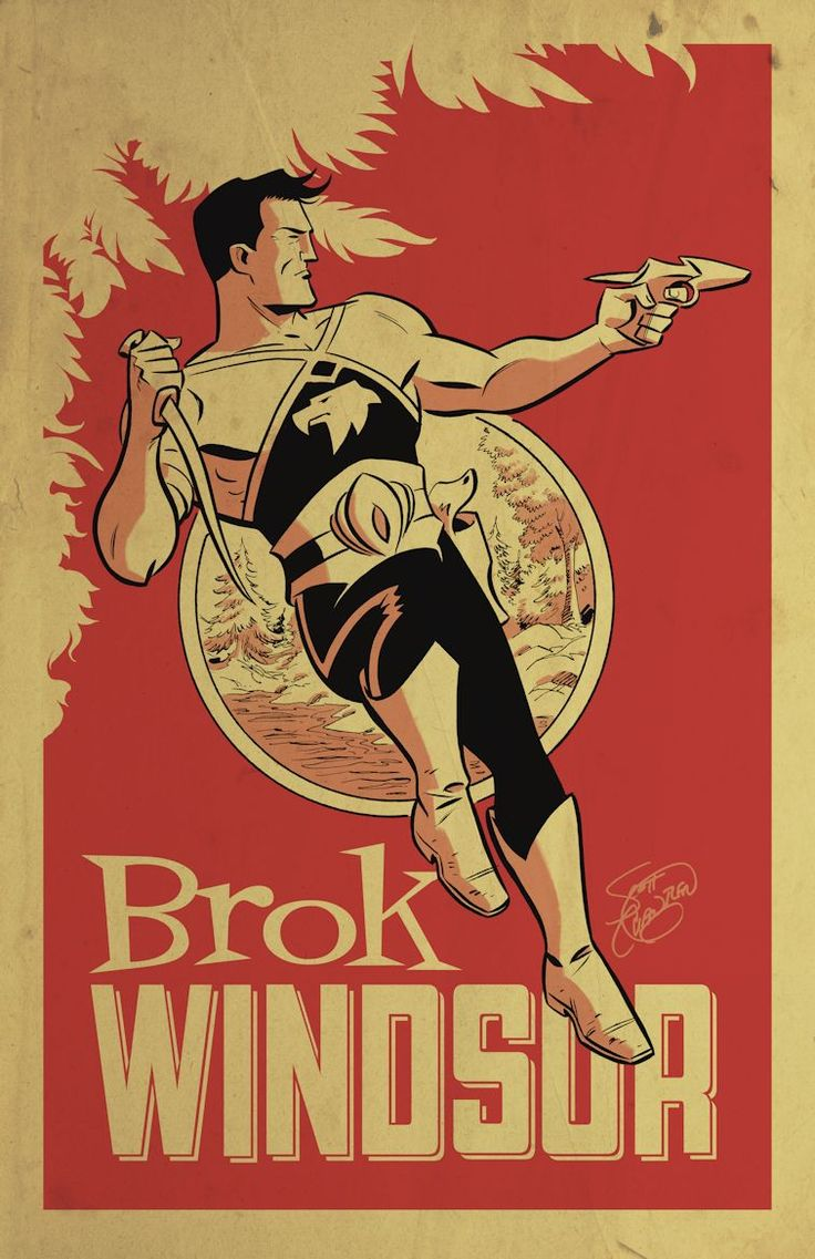 Brok Windsor Art by Scott Chantler