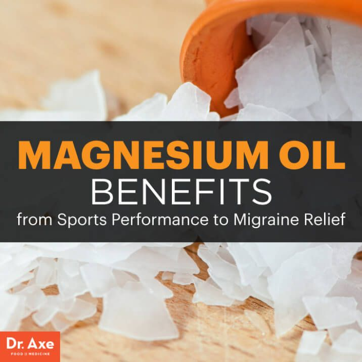 Magnesium oil benefits - Dr. Axe