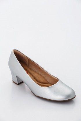 Ezüst Piccadilly comfort Női Magassarkú cipő