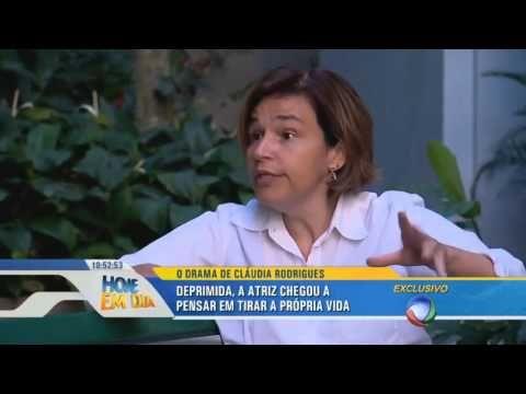 Atriz Cláudia Rodrigues fala sobre a luta contra a esclerose múltipla - YouTube