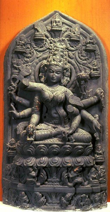 Tara, Pala Sena period, 10th c., India. BUDDHA / STATUES / ICONS : More @ FOSTERGINGER @ Pinterest