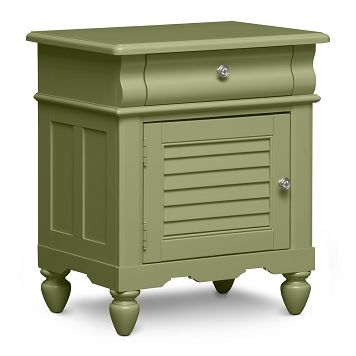 Seaside Green Kids Furniture Nightstand - Furniture.com $229.99