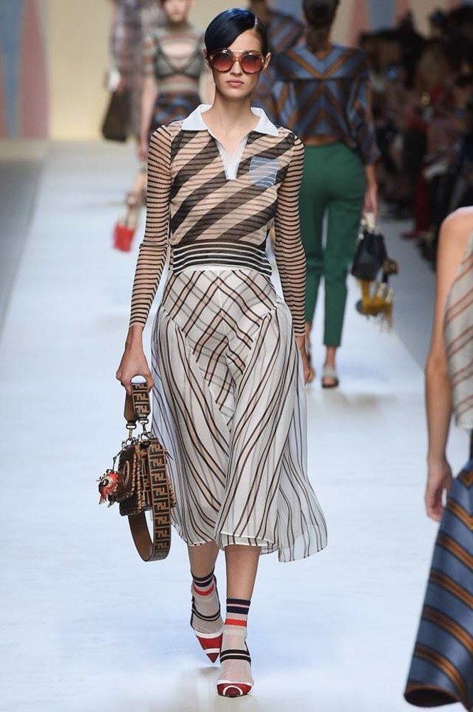 Fendi Spring 2018 Ready-to-Wear Collection Photos - Vogue