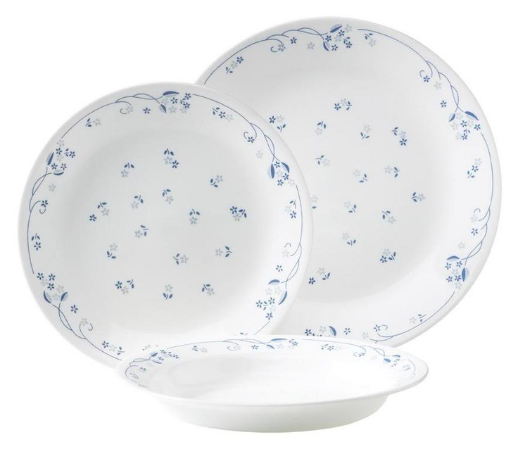 Corelle~Just bought a set of these ) I know they are old fashioned  sc 1 st  Pinterest & 87 best corelle images on Pinterest | Dish sets Dining sets and ...