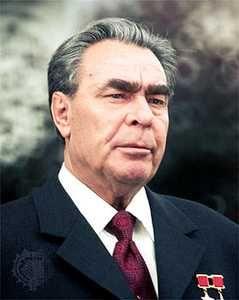 Leonid Brezhnev, leader of the Soviet Union after Nikita Krushchev.